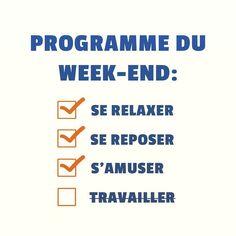 Voici quelques idées pour e week-end