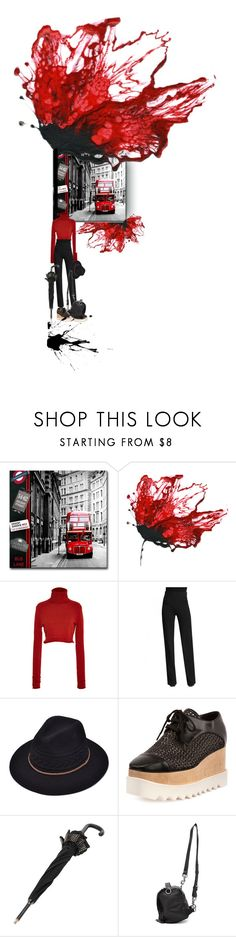 """""""Bus stop"""" by nino-d-f ❤ liked on Polyvore featuring Zeynep Arçay, Cushnie Et Ochs, STELLA McCARTNEY, Burberry and McQ by Alexander McQueen"""