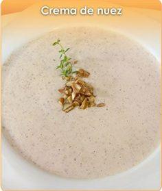 CREMA DE NUEZ Great Recipes, Healthy Recipes, Savory Crepes, Pasta Soup, Mexican Food Recipes, Ethnic Recipes, Best Food Ever, Keto Soup, Soup And Salad