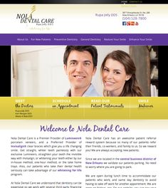 #sesamewebdesign #psds #dental #responsive #handwriting #sans #purple #gold #black #top-nav #full-width #gradient