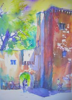 Christian Couteau  WATERCOLOR