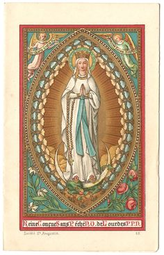 Hey, I found this really awesome Etsy listing at https://www.etsy.com/listing/467689619/rare-virgin-mary-queen-conceived-without