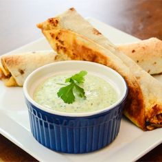 """Amy's Cilantro Cream Sauce I """"Excellent recipe! We added 1 Tbsp. chopped jalapenos for some extra spice."""""""