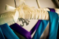 Bridesmaid Gift #2: Initialed Hangers | Bobbins of Basil, photo by Sean Marshall Lin