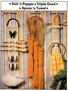 Kitchen Knottery A Macrame Collection just for the kitchen in