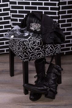 The Kooples favorites by the Flamboyante - boots, bag and shirt by the trendy French label