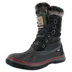 Stay warm and dry this winter wearing the Pajar Tuscan Men's Warm Lined Waterproof Snow Boots! These feature: Warm, faux fur lining, Pajar-Tex membrane- seam-se