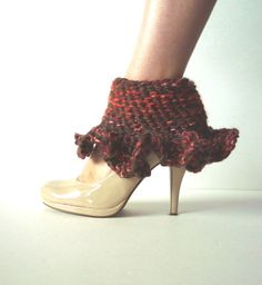 Ankle Warmers/Boot Toppers Wool Handmade on Etsy, $20.00