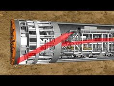 Maquinter Portugal: Herrenknecht Tuneladoras TBM - Tunnel Boring Machines - YouTube
