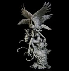 A Japanese Artist Created Astonishing 3-Dimensional Sculpture Of The Sirene » Design You Trust. Design, Culture & Society.