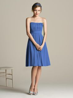 Cornflower Blue Bridesmaid Dresses