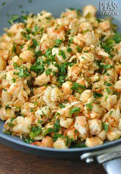 Seafood Stuffed Zucchini Boats!