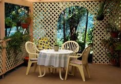 How To Use Lattice For Privacy On A Deck