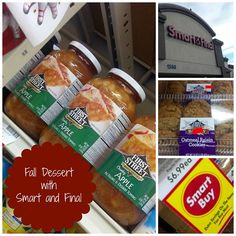 Fall Dessert: Oatmeal Cookie Apple Pie Bake