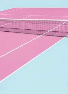 Pink Court - Net by Chris Abatzis as Poster in Standard Frame Aesthetic Pastel Wallpaper, Aesthetic Wallpapers, Aesthetic Vintage, Pink Aesthetic, Kylie Jenner House, Vintage Tennis, Pink Photo, Art Mural, Sports Photos