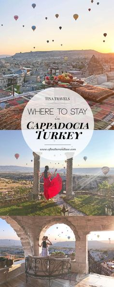 Planning a trip to see hot air balloons but don't know where to stay in Cappadocia? Here are where I stayed and my personal recommendations!