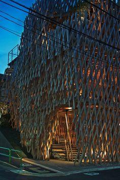 Kengo Kuma & Associates, Edward Caruso, Daici Ano · SunnyHill. Tokyo, Japan