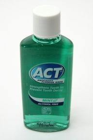 Act Anticavity Fluoride Rinse Mouthwash - Mint Flavor