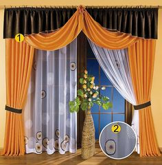 curtains and valances | unique european design sheer curtains sheer drapes curtain drapes sets ...