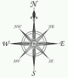 Drawing of a ships compass I want this as a tattoo when I get older