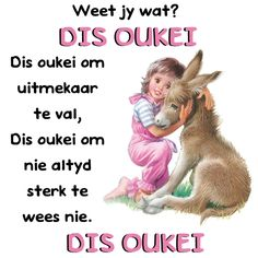 DIS 'OKAY'! Dis 'okay' om uitmekaar te van. Dis 'okay' om nie altyd sterk te wees nie. DIS 'OKAY'! Best Quotes, Funny Quotes, Afrikaanse Quotes, Angel Quotes, Silhouette Cameo Projects, Strong Quotes, Quote Posters, True Words, Verses