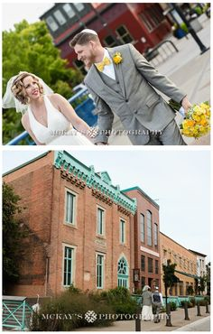 urban wedding venues in downtown Rochester. Documentary wedding photography at High Falls La Luna Restaurant