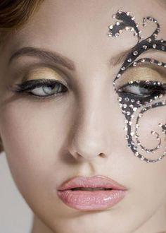 makeup inspiration- masquerade