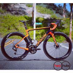 Cipollini NK1K Disc SRAM eTap Hydro ENVE Complete Bike #twohubs #bikeporn #cipollini #cipollinibikes #mcipollini #mcipollinibikes #nk1k #nk1kdisc #madeinitaly #madeinitaly #italia #sram #etaphydro #etaphrd #envecomposites #orange #fluoorange