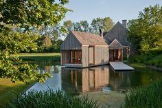 Refuge in de Vlaamse landerijen door Wim Goes Architectuur | Allemaal Dingen