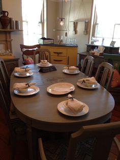 Yellow Dog Furniture Company dining set at The Blue Hearth