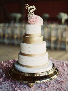 Tartas nupciales para todos los estilos de boda