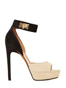LUISAVIAROMA - Givenchy - Nubuck and Nappa Leather Sandals