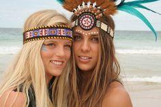 Jennifer x Lenni Hippie Style, Hippie Bohemian, Boho Gypsy, My Style, Hippie Life, Indian Baby, Red Indian, Indian Head, Indian Fancy Dress
