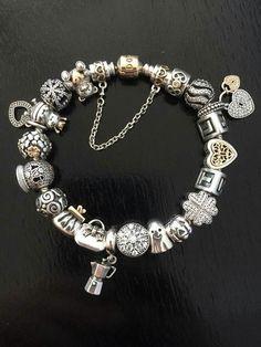 By Diane Knapp Pandora Jewelry, Pandora Charms, Pandora Story, Charmed, Bracelets, Bracelet, Arm Bracelets, Bangle, Bangles