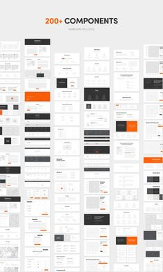 Recursos: Basement Wireframe Kit: 200+ Prototype Elements - Designmodo Market