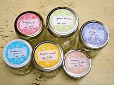 Add a Finishing Touch to Your Canning Jars with These Free Labels: Sissyprint's Free Canning Labels