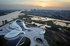 Ópera Harbin / MAD Architects