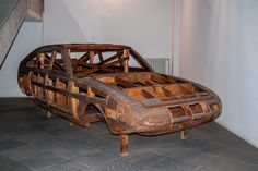 Pininfarina Wooden Styling Buck