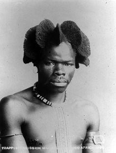 Africa | Portrait 1896, South Africa; possibly Zulu people. | © Foto: Ethnologisches Museum der Staatlichen Museen zu Berlin
