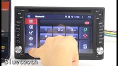 Nissan Universal 6.2'' Android 4.4 Double Din Car Stereo - Pumpkin
