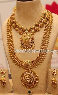 Plain Mango Haar Huge Choker - Jewellery Designs