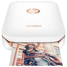 Buy HP Sprocket Portable Photo Printer Online at johnlewis.com