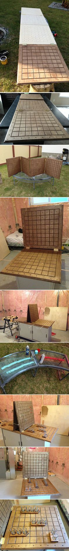Homemade Battleshots…I feel like all my carpentry projects have been leading up to this moment.