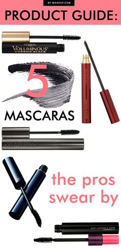 When that someone happens to be a makeup artist, we start to take notes and you should too. Check out what mascaras our pros are buzzing about. After all, you could be just one flick of the wand away from the fullest lashes this side of falsies.