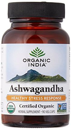 ORGANIC INDIA Ashwagandha Herbal Supplement Veg Capsules, Healthy Stress Response (90 Capsules) - http://alternative-health.kindle-free-books.com/organic-india-ashwagandha-herbal-supplement-veg-capsules-healthy-stress-response-90-capsules/