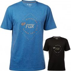 Fox Racing Translunar Short Sleeve Crew Neck Motocross Dirt Bike Mens Tech  T-Shirts Tech e2fed7e0e