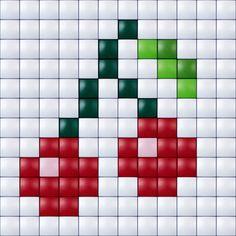 #pixelhobby #pixelen #pixelgift #hobbyproduct #knutselen #creatief #pixels #kersjes #besjes #inspiratie #doe-het-zelf