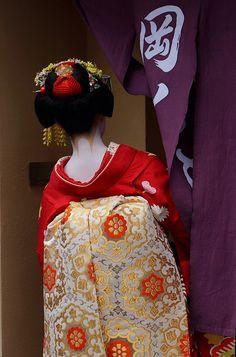 #geisha #japan #nihon #kimono