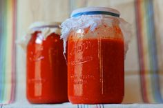 Fermented Hot Sauce (Use all those peppers you rescued form the garden)