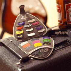 The Pickpokit™ is the original, authentic guitar pick wallet, designed by a passionate guitarist, for guitarists.